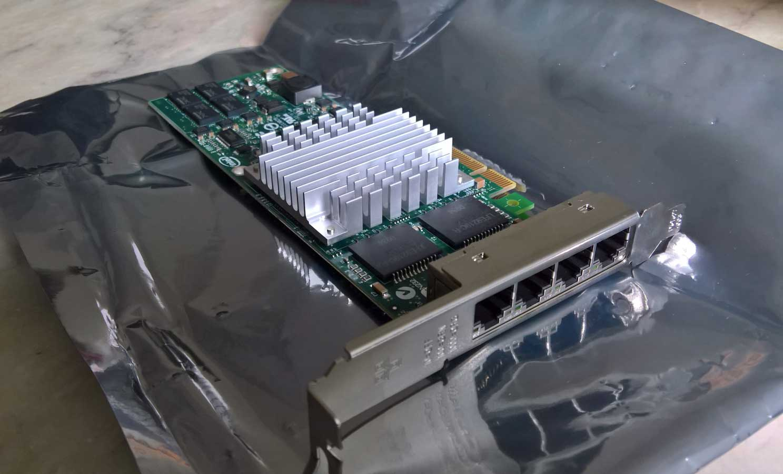 Intel Quadport Gigabit NIC