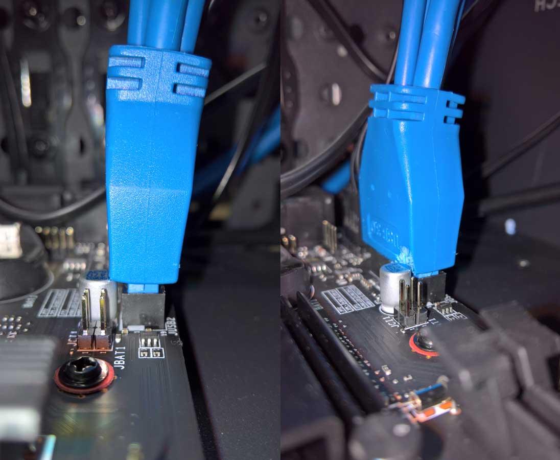USB3-Header Problem und Lösung
